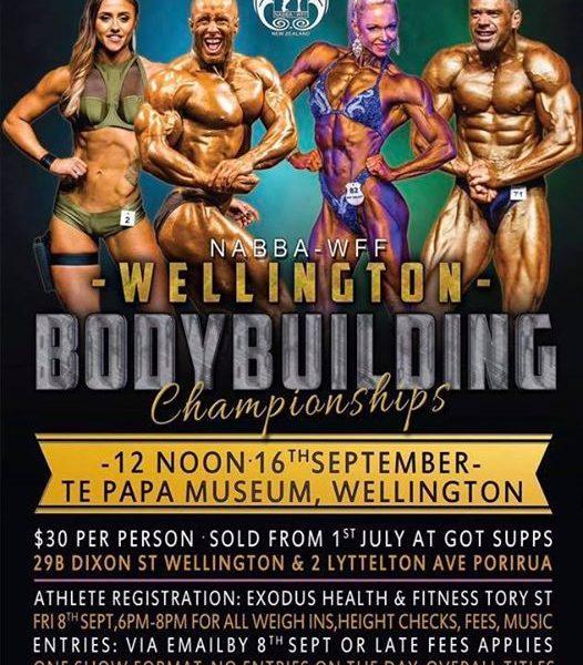 WELLINGTON POSTER 2017