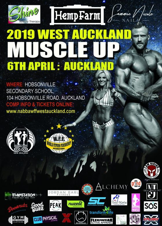WEST AUckland Muscle Up 2019
